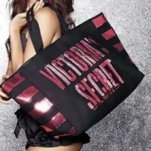 NWT Victoria's Secret Bling Tote Bag